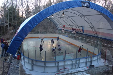 local big time best backyard hockey rinks