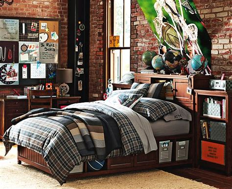 18 year old bedroom ideas plaid beadboard bedroom for teenage boys