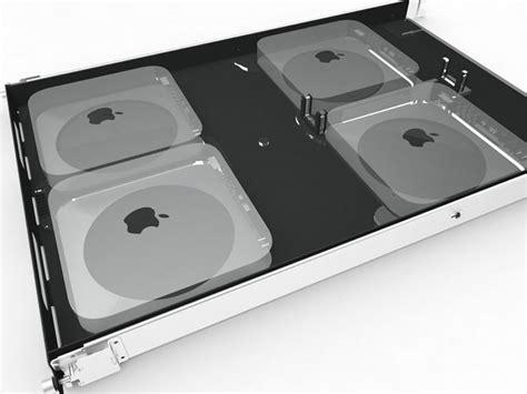 Rack Mount Mac Mini by H Squared Mini Rack Server Rack Mount 4 X Mac Mini