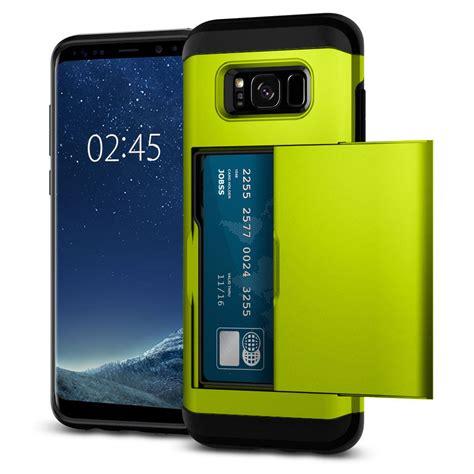 Acc Blueray Samsung Galaxy S8 Plus Slim Cover Hardca credit card pocket slide slim shockproof cover for samsung galaxy s8 plus ebay