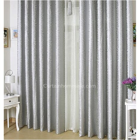 long length curtain panels silver color classic thick floor length extra long curtains