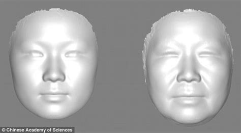 imge of an average 61 year olds face 3d scans can tell your real biological age daily mail online