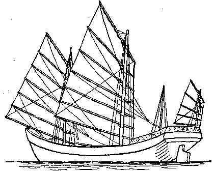 how to draw a chinese junk boat william chalmers burns part 2