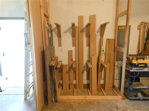 shop organization 1 vertical lumber rack by