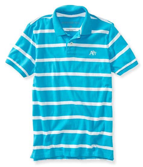 Aeropostale A87 Heritage Bar Stripe Jersey Polo Shirt Original 1 aeropostale mens a87 striped rugby polo shirt ebay