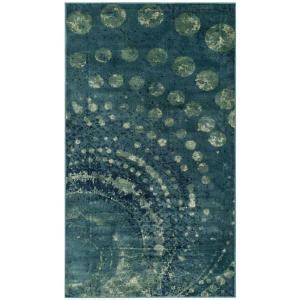 safavieh constellation vintage turquoise multi 8 ft x safavieh constellation vintage turquoise multi 3 ft 3 in x 5 ft 7 in area rug cnv749 2224 3