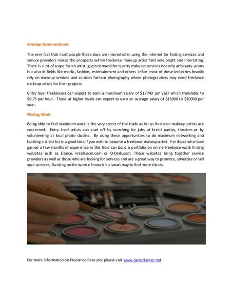 freelance makeup artist average salary fay