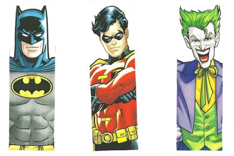 printable batman bookmarks 6 best images of printable bookmarks for boys super heroes