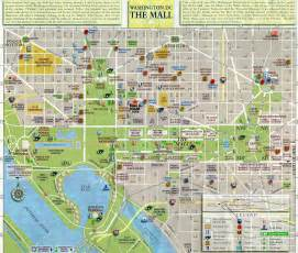 washington dc map of mall roets uprooted washington d c the official tour