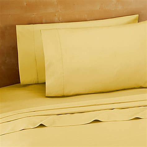 yellow bed sheets buy 220 thread count 100 cotton twin sheet set in yellow