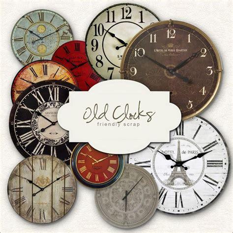 free printable cd clock faces free printable clocks faces crafts pinterest
