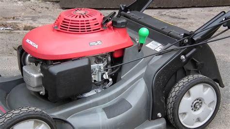 honda hrx honda hrx 537 hydrostat roller lawn mower