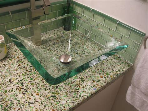 recycled glass mosaics the easy option plumbtile s blog choosing the coolest countertop for your space