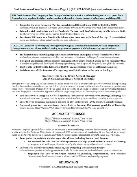 digital marketing cv sles digital marketing executive resume sle