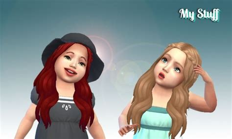 sims 4 hairs kalewa a toddlers hair pack sensitive hair for toddlers at my stuff 187 sims 4 updates