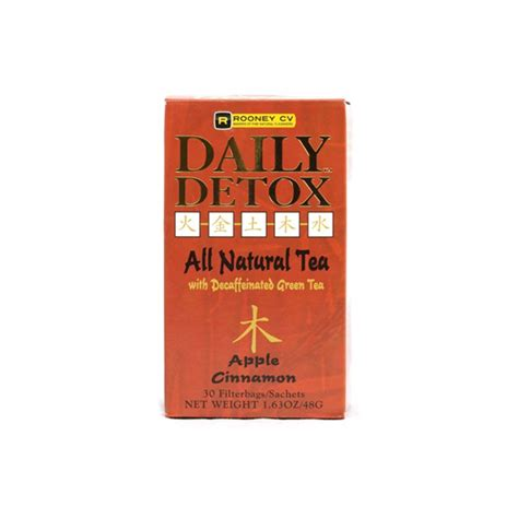 Wellements Daily Detox Tea Reviews by Daily Detox All Tea Apple Cinnamon 30 Pkts
