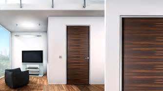 frameless wood interior doors by bartel home