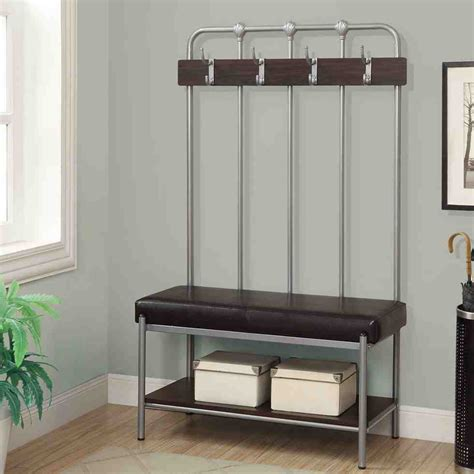 small entryway bench  storage home furniture design