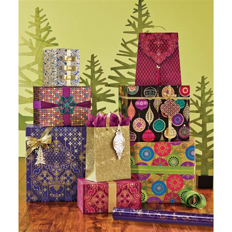foil gift wrap opulent ornament foil gift wrap the container store