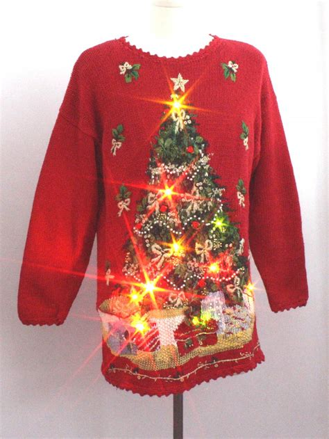 light up christmas sweater christmas sweaters light up christmas lights card and decore