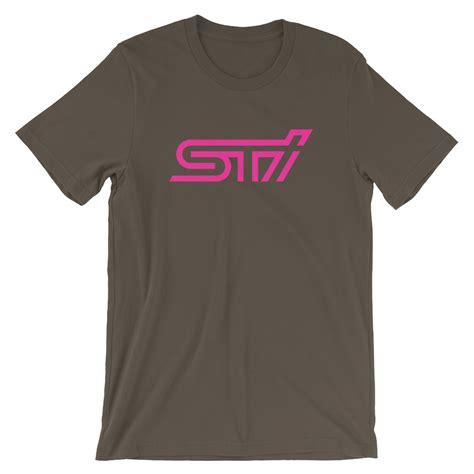 T Shirt Subaru 02 sti t shirt driver apparel