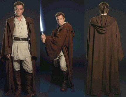 tutorial tunica jedi obi wan kenobi ep1 tutoriaux de costumes star wars