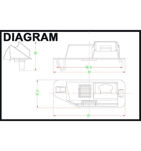 license plate rear view wiring diagram license