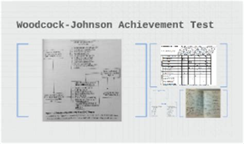 wj iii achievement sle report woodcock johnson achievement test by theresa cannone on prezi