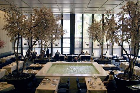 Four Seasons Grill Room by The Four Seasons Restaurant The Grill Room New York Ny