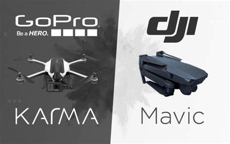 gopro karma drone dji mavic pro black friday 2016 deals drone cam wars dji mavic pro vs gopro karma