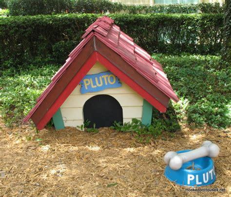 backyard dog house minnie mouse s pink purple cottage at disney world