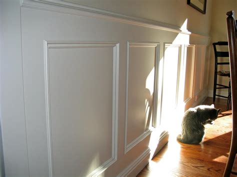 Wainscot Chair Rail by Decosee Panel Molding