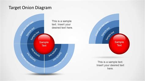 Target Onion Diagram For Powerpoint Slidemodel How To Templates For Powerpoint