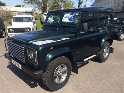 green land rover defender used green land rover defender for sale gloucestershire