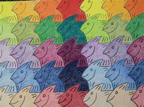 tessellation fish template fish tessellation www imgkid the image kid has it
