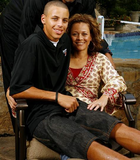 Steph curry s mom steph curry s mom is hotter