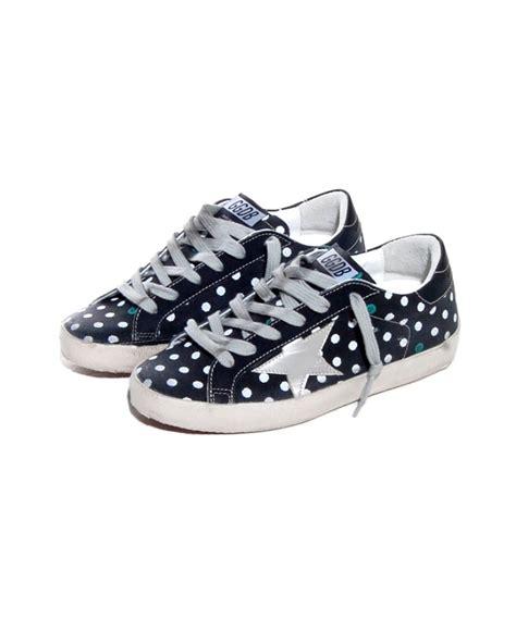 polka dot sneakers golden goose deluxe brand black polka dot sneakers in