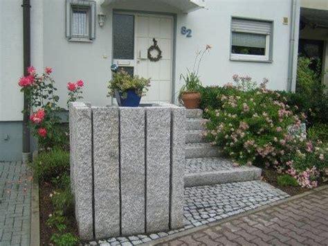 gartengestaltung mit gefälle granit schwelle hellgrau 10 x 25 x 150 cm gestockt wie