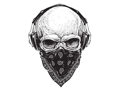Skull Headphones skull with headphones www pixshark images