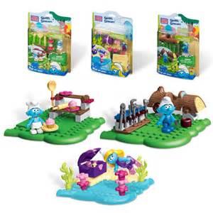 mega bloks smurfs mini figures case mattel smurfs construction toys entertainment earth