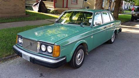 volvo 244dl factory green 4 speed 3k 1979 volvo 244 dl bring a trailer