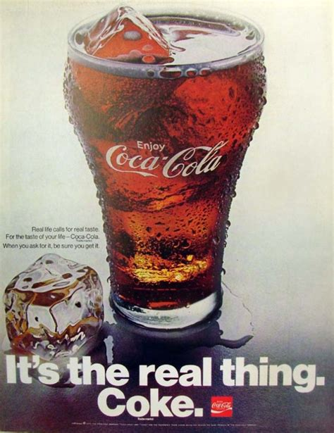 Coke Is The Real Thing For Andy by It S The Real Thing Coke 2 1970