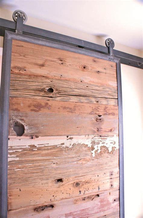 Tracks For Barn Doors Barn Doors In Reclaimed Wood Tracks Included