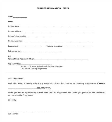 written printable letters resignation templates