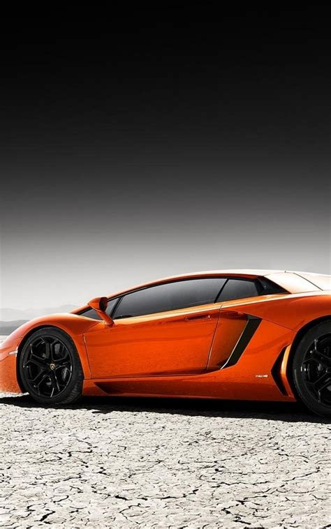 wallpaper android lamborghini orange lamborghini aventador desert android wallpaper free