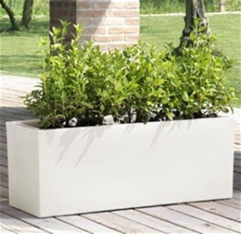 vasi bianchi ikea mobili lavelli vasi in resina rettangolari bianchi