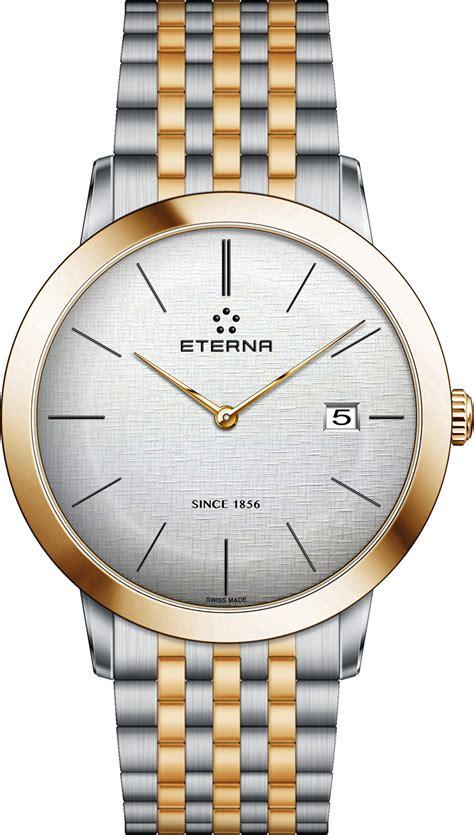 Eterna Bracelet Silver Eterna Gent Automatic Quartz Dress Watches Are A