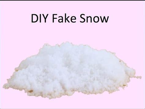 where to buy fake snow diy snow
