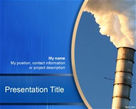 industrial revolution powerpoint template free industrial plant powerpoint template