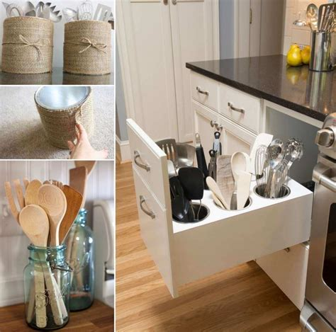 storage ideas for kitchens 15 practical utensil storage ideas for your kitchen